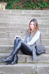 zina,fashion vibe,black pants,pants