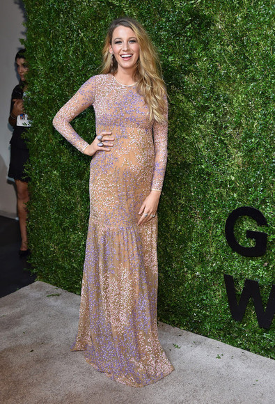 dress blake lively maxi dress maternity dress maternity