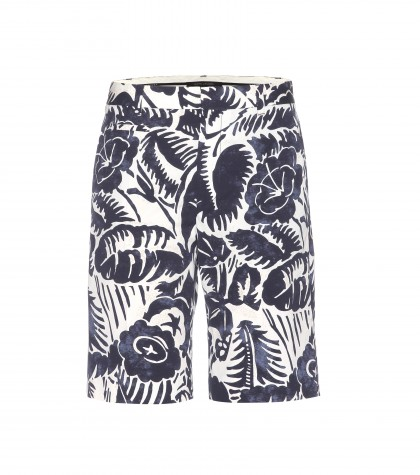 mytheresa.com -  Printed cotton Bermuda shorts - Shorts - Clothing - Luxury Fashion for Women / Designer clothing, shoes, bags