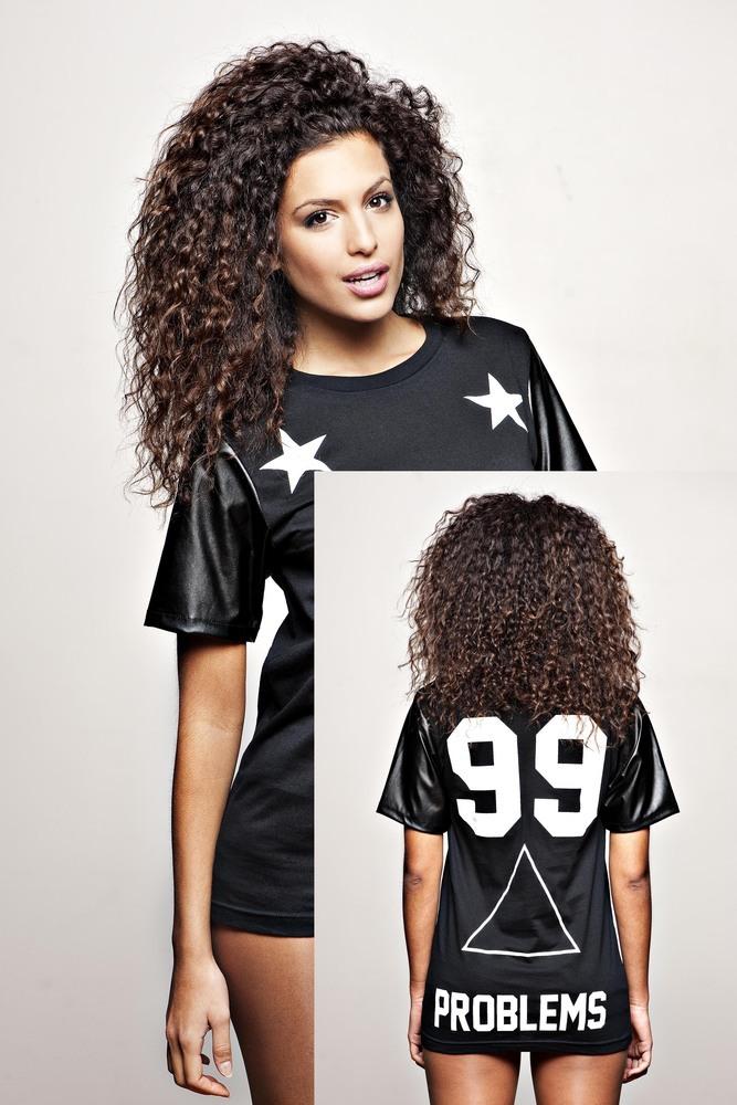 "JAY-Z 99 Problems T-shirt noir ""F"" | BBP Official Web Store| New Collection Saison 2014"