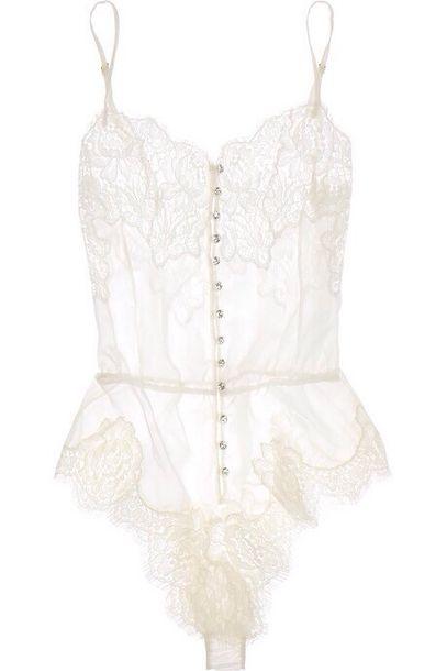 dress white white jumpsuit underwear a simple v bodysuit white dress lace silk sheer lingerie sexy bodysu lace bodysuit white lace
