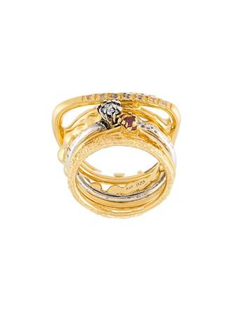 pearl ring silver metallic jewels