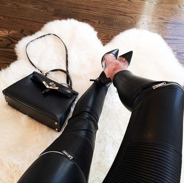 leggings black pants black leggings