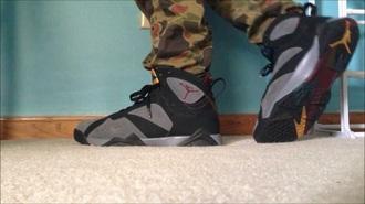 shoes jordan nike air air jordans 7 burgundy menswear swag jumpman 23 style kicks retro july pants