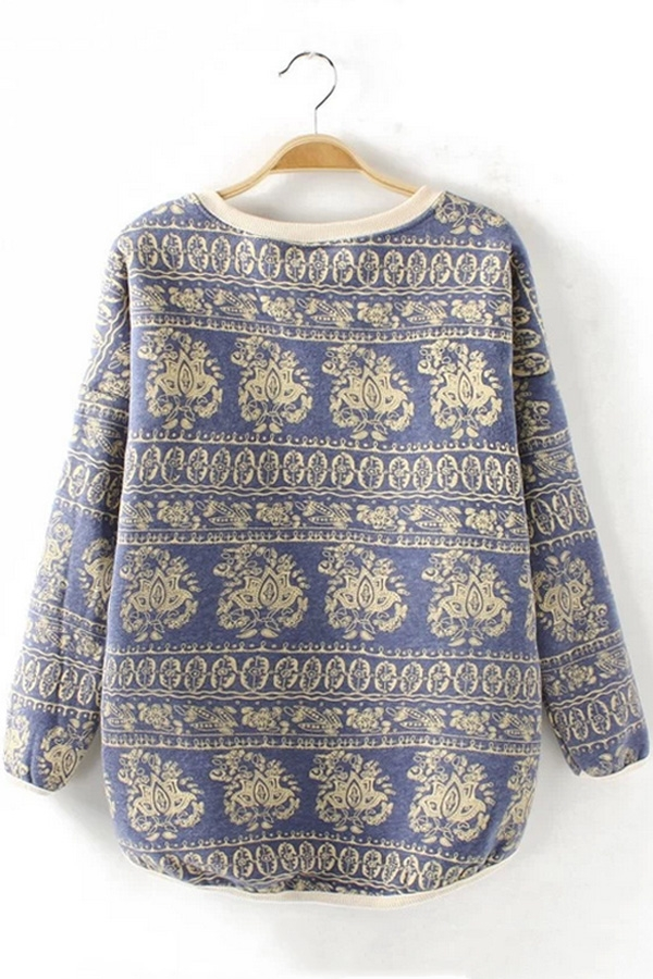 Relaxed Retro Sweatshirt - OASAP.com