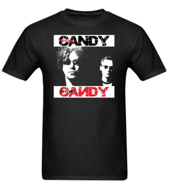 t-shirt the jesus and mary chain men t-shirt