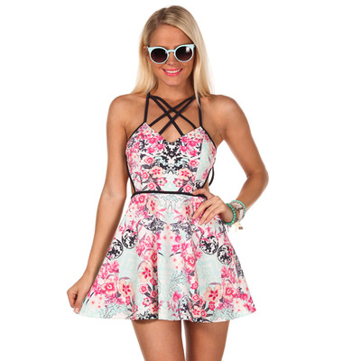 Celebrity Flirty Floral Dress · Humbly Glam · Online Store Powered by Storenvy