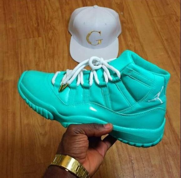shoes turquoise jordans sneakers