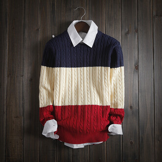sweater shopwithhearts mens cable knit jumper