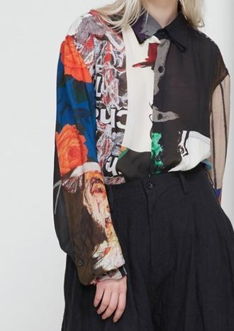 blouse cloth clothes