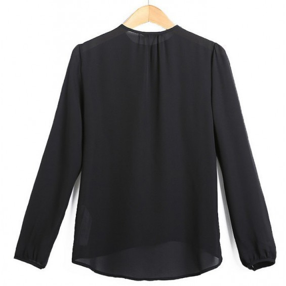 Glamour buttons blouse