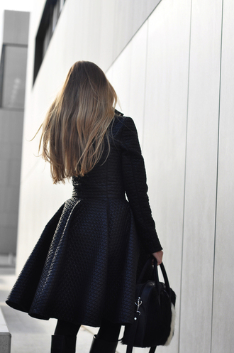 coat jacket winter outfits black coat waist slim coat style classy classy coat wool coat cozy coat chic chic coat instagram tumblr outfit pajamas