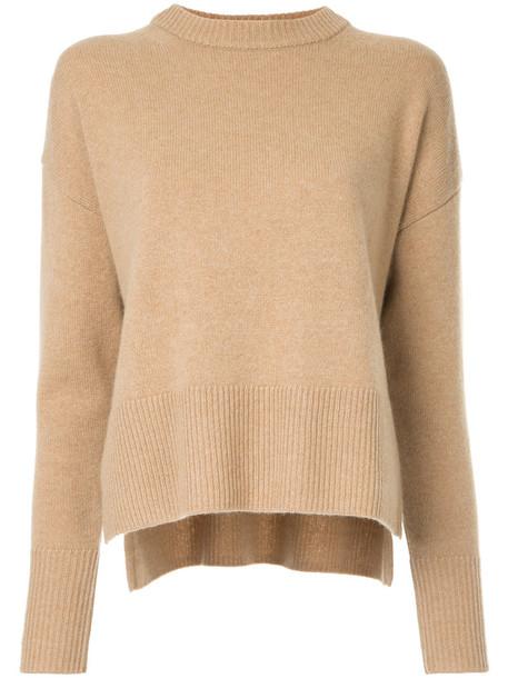 Estnation sweater oversized women fit nude