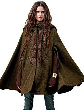 coat cape steampunk tribal pattern fairy tales