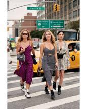 dress,midi dress,leopard print dress,side split,boots,handbag,sunglasses