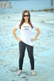 perla oreneta,blogger,t-shirt,sunglasses,jewels