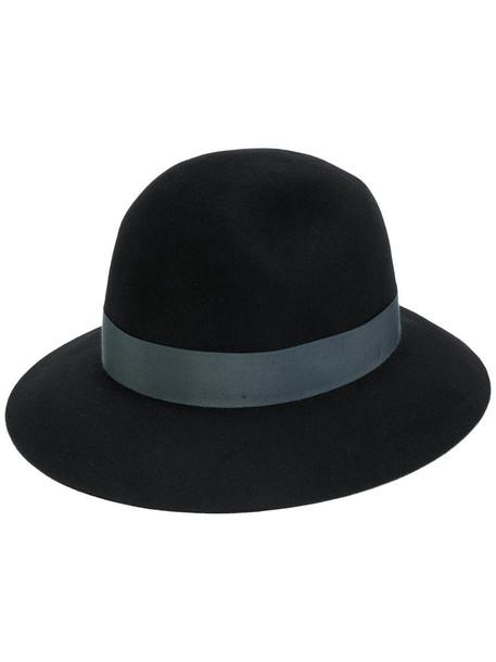 Borsalino women hat black wool
