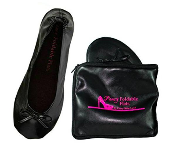 shoes black flats travel