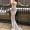 Berta cap sleeve embellished lace mermaid gown   nordstrom