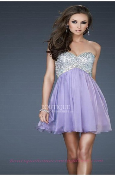 summer dress party dress prom dress mini dresses purple dress chiffon homecoming dresses sexy dress girl dress sequin dress short dresses empire dresses elegant popular dress formal