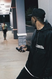 jacket,alabama,black,urban,urban menswear,california,hipster menswear,dmv,new york city,mens cap,mens windbreaker