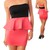 Sexy Strapless Black Coral Bodycon Color Block Peplum Dress s M L | eBay