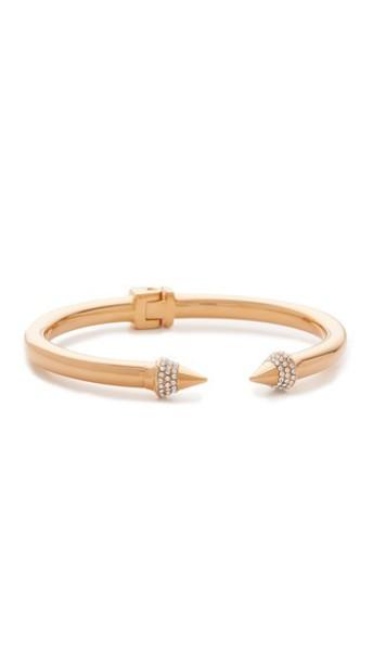 Vita Fede Mini Titan Crystal Bracelet - Rose Gold/Clear