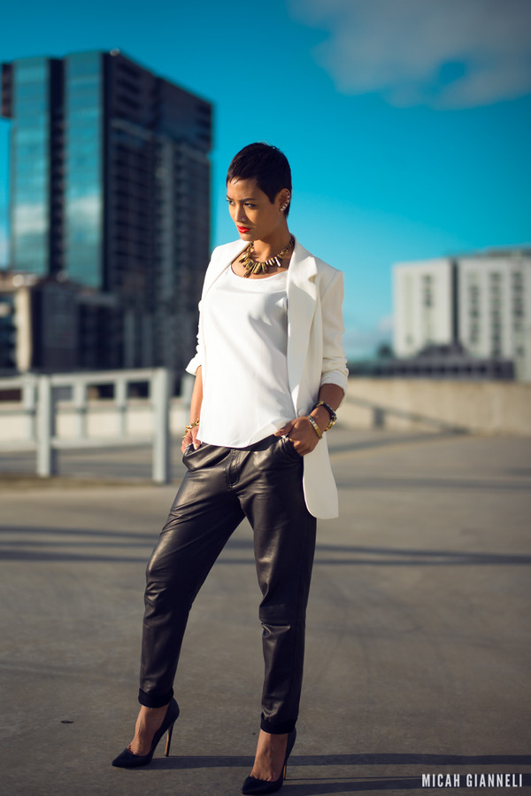 micah gianneli t-shirt jewels pants shoes