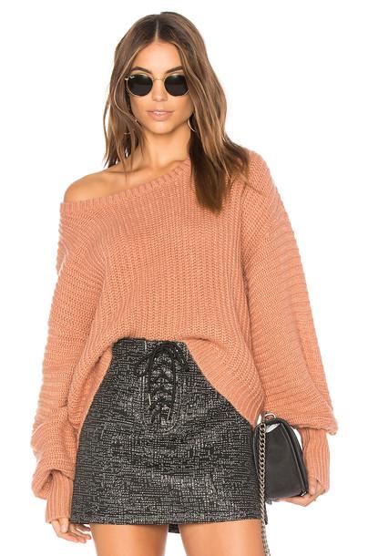 Heartloom sweater pink