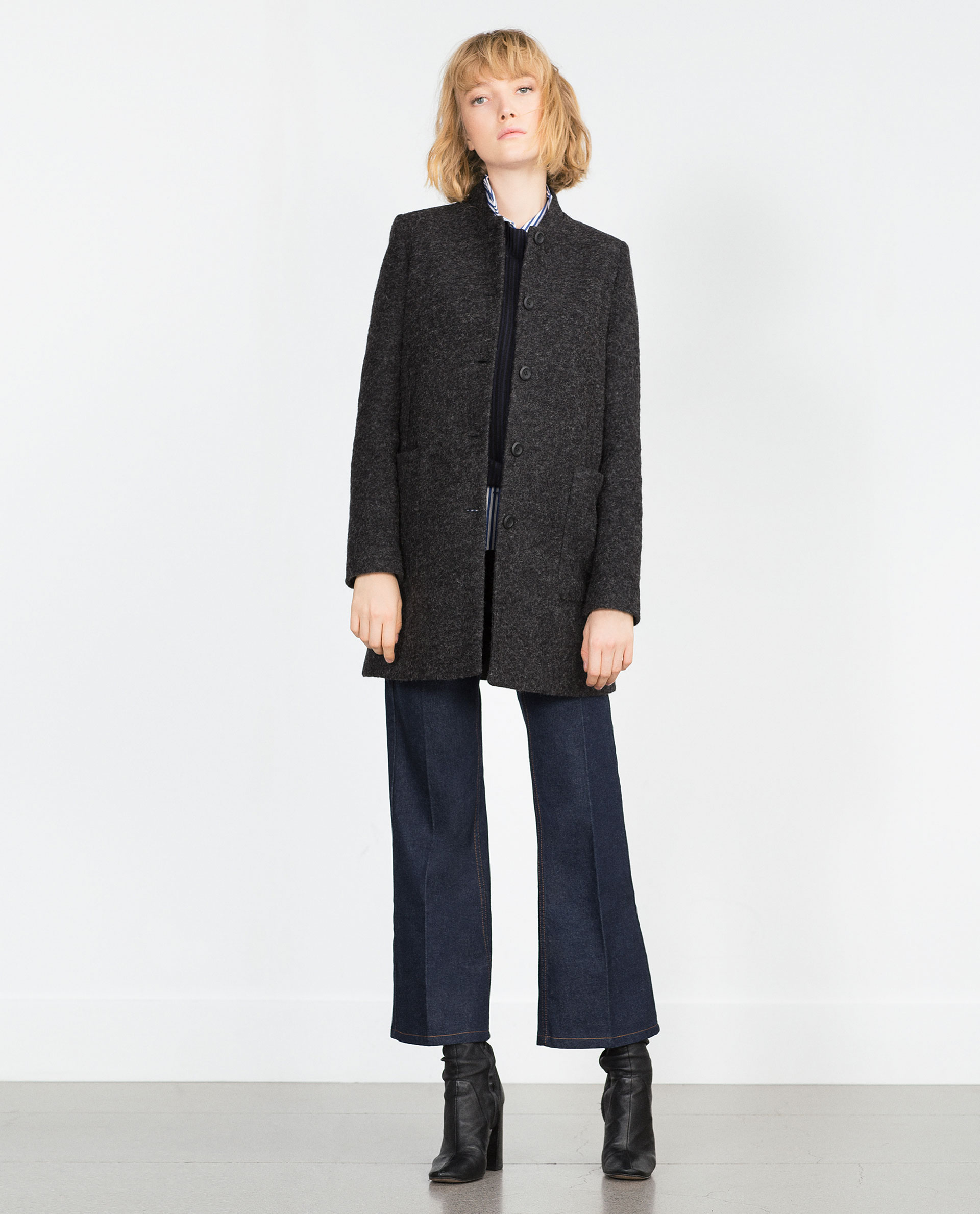 WOOL COAT - Outerwear - Woman - COLLECTION SS16 | ZARA United States