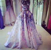 dress,floral,fashion show,colorful,prom,long prom dress,long dress,mermaid prom dress,emerald green,prom dress,prom need help finding itt,need ,beautiful,lovely