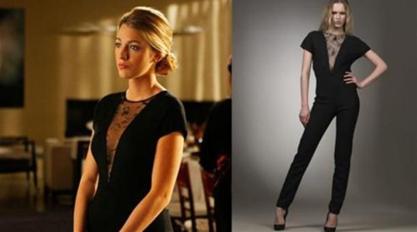 Dress: blake lively, gossip girl, jumpsuit, stella ...