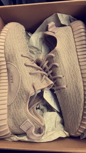 shoes,sneakers,yeezy,adidas,tan,adidas yeezy boost,yeezy boost 350,athletic,kicks,yeezus