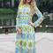 Luxury fashion boutique long dress