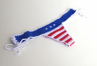 swimwear brazilian bikini bottom string bikini beach summer sexy sexy bikini american flag american flag bikini july 4th patriotic festival stars and stripes crochet 2014 summer 2014 beach fashion women bikini