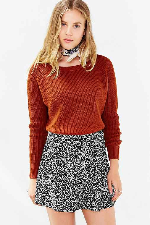 Kimchi Blue Off,Shoulder Cropped Sweater , Urban Outfitters