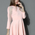 Organza Panel Dress in Pink - Retro, Indie and Unique Fashion