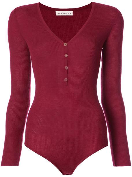 Ulla Johnson bodysuit women red underwear