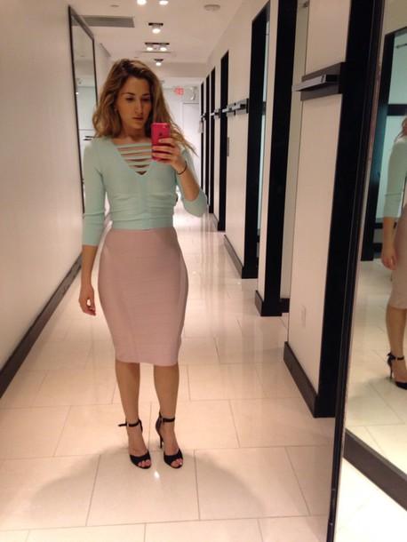 skirt bodycon dress midi skirt sexy shirt crop tops love crop tops