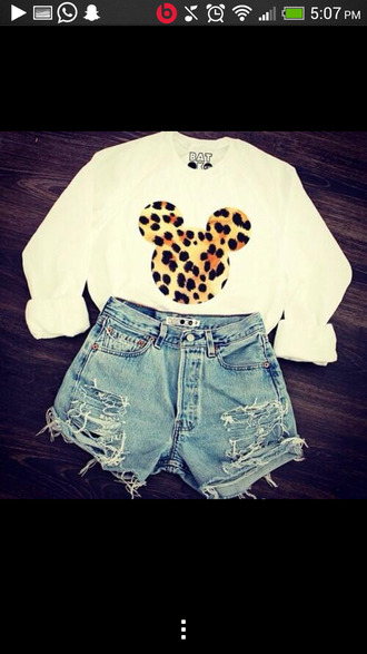 sweater t-shirt shoes shorts jeans shirt disney top blouse