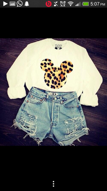 sweater t-shirt shoes shorts jeans shirt disney top blouse
