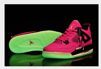 shoes air jordan glow up shoes colorful