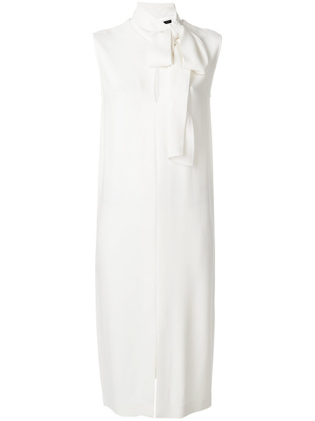 Joseph dress shift dress women spandex white