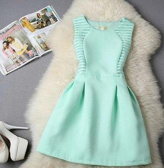 dress turquoise blue light blue