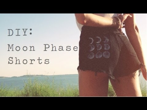 DIY: Moon Phase Shorts - YouTube