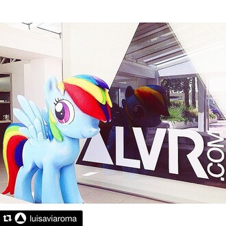 bag 77th rainbow pony party my little pony colourful firenze4ever summer luxury designers avant garde