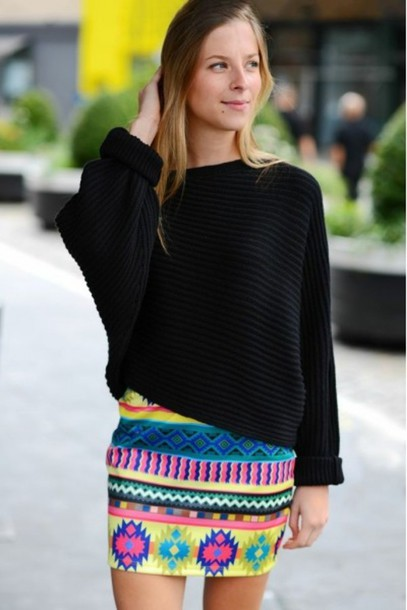 sweater outfit look of the day ootd style fashion fashionista lookbook skirt pretty stylish instastyle instagram