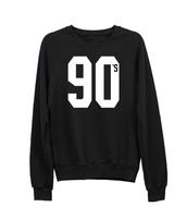 sweater,black,sweatshirt,90s style,graphic tee