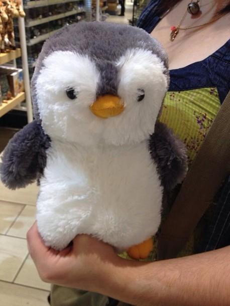 home accessory penguin cute stuffed animal stuffed animal