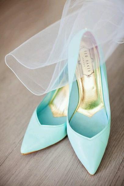 shoes ted baker heels high heels blue light blue
